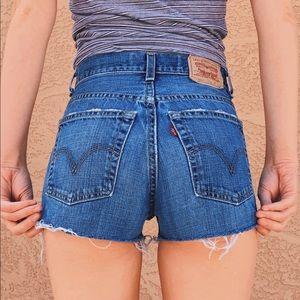 Vintage Levis Cutoff Shorts